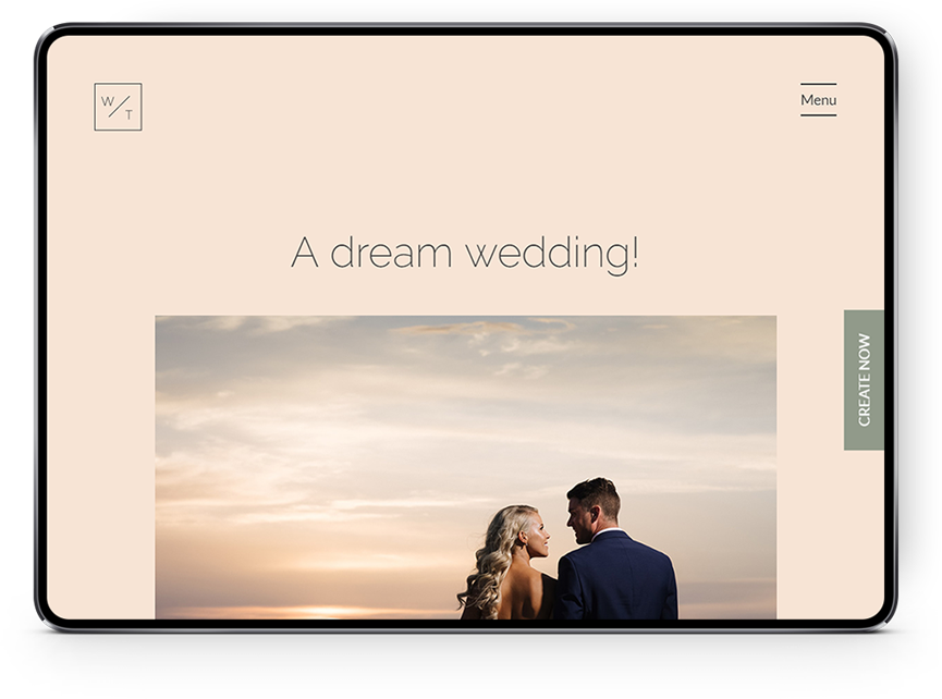 Wedding Tales Santorini tablet screen 2